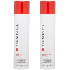 Paul Mitchell 폴미첼 헤어스프레이 315ml x2팩 Worked Up Hairspray, 1개