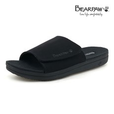 베어파우(BEARPAW) STRAW WEDGE MENS 슬리퍼 K1990001MB-M