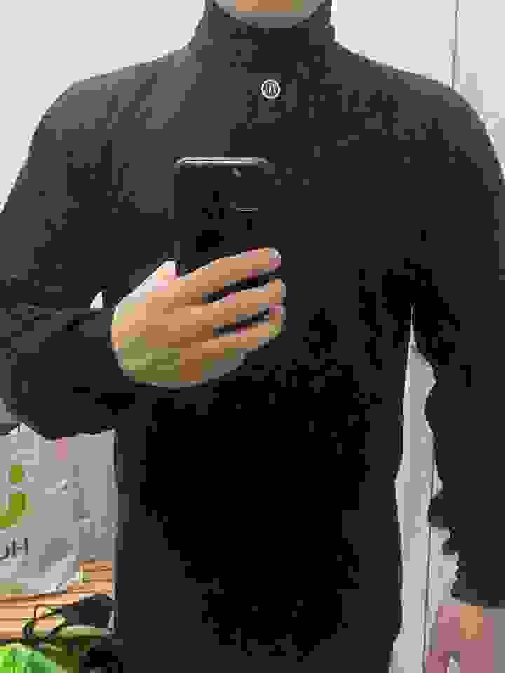 1+1 록꾸 [프리미엄] 터틀넥 목폴라 소프트 양면 이너 티셔츠 슬림핏 남자 스타일간지