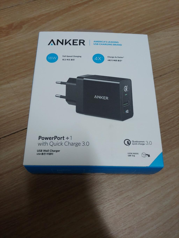 앤커 파워포트 플러스 퀵차지 30 프리미엄 USB 고속충전 어댑터  리뷰 후기