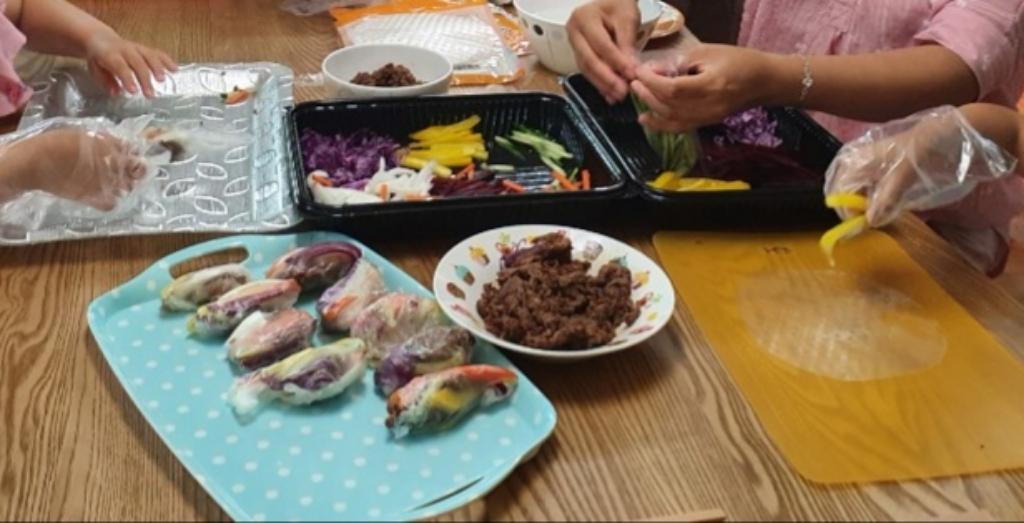 소불고기 월남쌈 쿠킹박스 밀키트  리뷰 후기