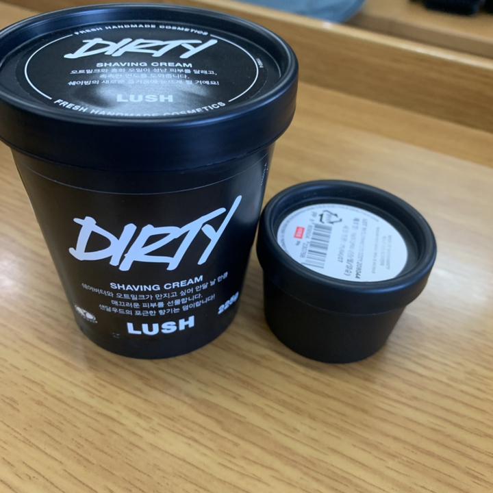 더티-쉐이빙 크림 쉐이빙  리뷰 후기