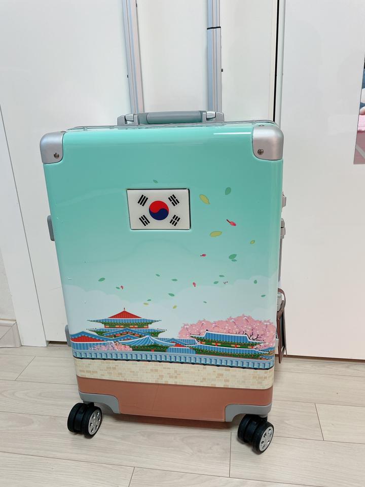 투팩 캔버스 캐리어 20인치(기내용)  리뷰 후기