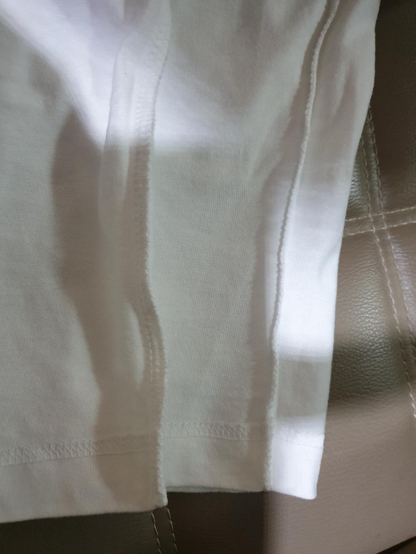 험블스튜디오days 프린팅 남녀공용 면 긴팔티 라운드넥 화이트 긴팔 티셔츠  리뷰 후기