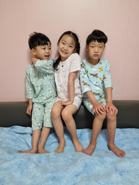 보누맘 여아용 샤이캣 7부 쟈가드 상하 내의 리뷰 후기