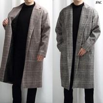 오버핏 남자 코트