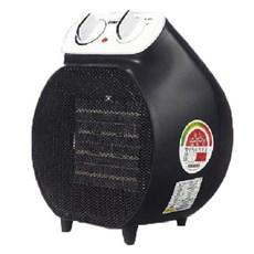 인터비즈 PTC 전기온풍기 캠핑겸용 + 전용가방, BFB-704BL, 블랙