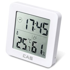 카스 디지털 온습도계 T025 + CR2032 배터리, 1세트