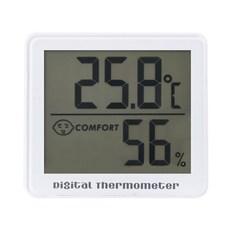 노바리빙 디지털 온습도계 SH023 화이트, 1개