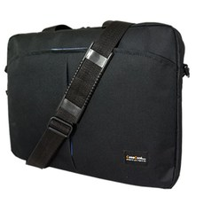 CASECOOL 비즈니스 노트북 서류 가방 STB35035, 블랙, 15.6in
