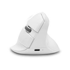 제닉스 버티컬 무선 블루투스 마우스 STORMX VM, 화이트