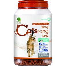 캐츠랑 전연령 올라이프 고양이 건식사료, 2kg, 1개