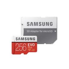 삼성전자 EVO PLUS 마이크로SD 메모리카드 MB-MC256HA/KR, 256GB