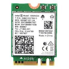 인텔 NGW WiFi 모듈 WLAN 블루투스 5 M.2 NGFF 01AX769 노트북 무선랜카드, AC9260