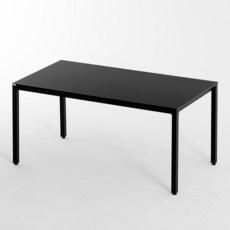 209애비뉴 제로데스크 게임용 컴퓨터 책상 1200 x 800 x 720 mm, 블랙(상판) + 블랙(프레임)