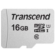 트랜센드 마이크로 SD 메모리카드 300S, 16GB