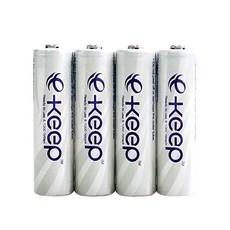 렉셀 e-Keep AA 충전지 2000mAh, 1개입, 4개