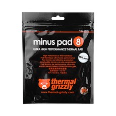 ThermalGrizzly minus pad8 CPU쿨러 120 x 20 x 1 mm