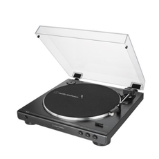 오디오테크니카 자동 벨트 드라이브 턴테이블, AT-LP60X(블랙)