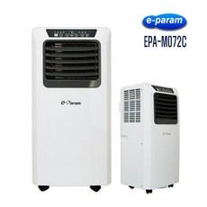 이파람 이동식에어컨 EPA-M072C 소형 공냉식 강력냉방 제습 송풍 예약기능 리모컨 가정용 사무실