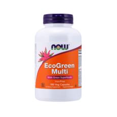 나우푸드 에코그린 종합 비타민 추천 멀티 베지 캡슐, 180개입, 1개