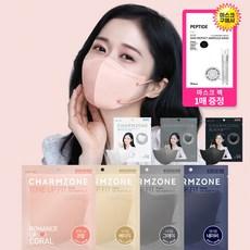 참존 KF94 공산품 컬러 마스크 톤업핏 장나라 대형 화이트 새부리형 마스크 25매 50매100매 컬러