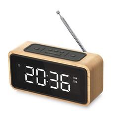무선 블루투스 스피커 라디오 LED 시계 알람 AW332