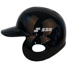 사사키 초경량 유광 외귀 헬멧 (검정) 좌-우선택, 좌귀(우타자용)