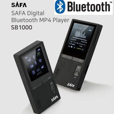 사파 슬림형 블루투스 MP3플레이어 8GB, SB1000