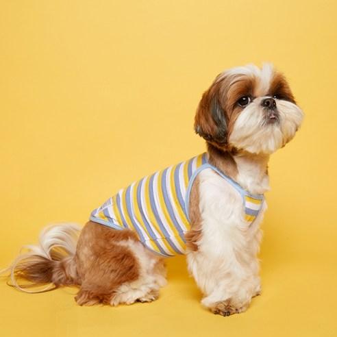 플로트 프레쉬 나시 강아지옷