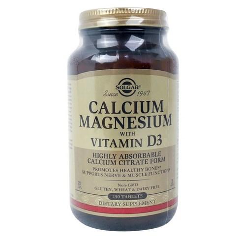 솔가 칼슘 마그네슘 비타민 D3 타블렛